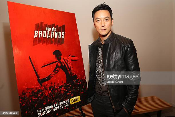 Actor Daniel Wu attends AMC and CAPE Celebrate 'Into The Badlands' at the Japanese American National Museum on November 5 2015 in Los Angeles...