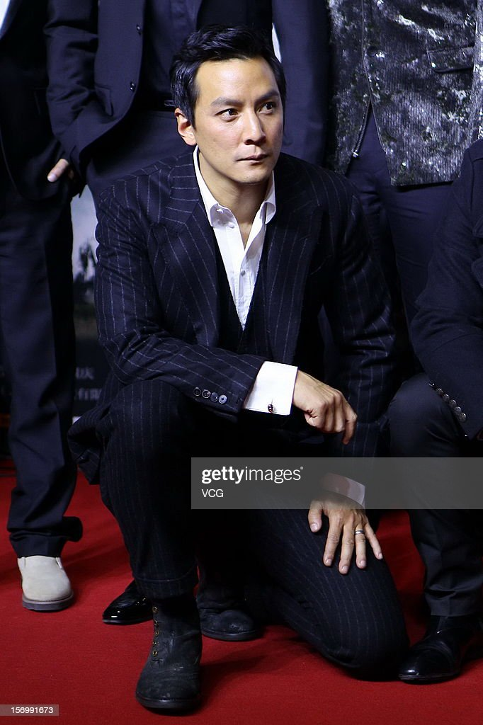 Actor Daniel Wu attends 'The Last Supper' premiere at China World Trade Center Tower III on November 26, 2012 in Beijing, China.