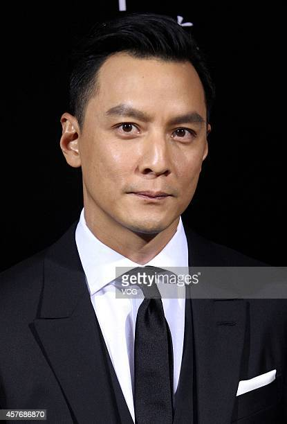 Actor Daniel Wu attends Zegna fashion show during Shanghai Fashion Week 2015 Spring/Summer on October 22 2014 in Shanghai China