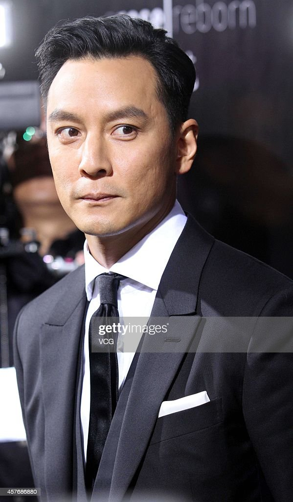 Actor Daniel Wu attends Zegna fashion show during Shanghai Fashion Week 2015 Spring/Summer on - actor-daniel-wu-attends-zegna-fashion-show-during-shanghai-fashion-picture-id457686880