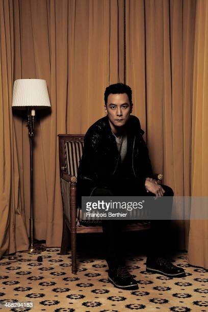 Actor Daniel Wu by Photographer Francois Berthier for the Contour Collection poses at the Ritz Carlton Hotel during the 64th Berlinale International...