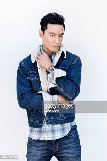 Actor Daniel Wu is photographed for August Man on March 23 2017 in Los Angeles California