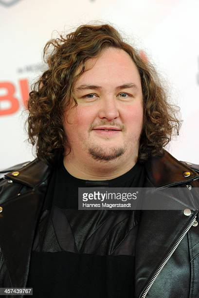 Actor Daniel Zillmann attends 'Buddy' Premiere at Mathaeser Filmpalast on December 17 2013 in Munich Germany