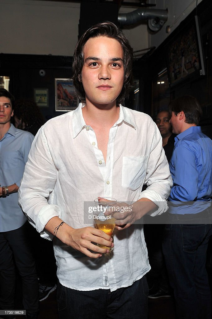 Actor Daniel Zovatto attends the Glass Eye Pix 'Beneath' Premiere Event - After Party at Oliver's City Tavern on July 15, 2013 in New York City.