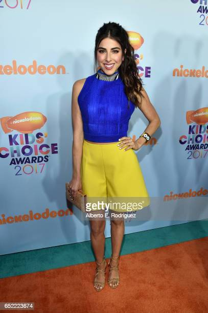 Actor Daniella Monet at Nickelodeon's 2017 Kids' Choice Awards at USC Galen Center on March 11 2017 in Los Angeles California