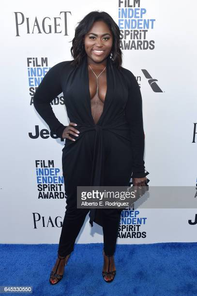 Actor Danielle Brooks attends the 2017 Film Independent Spirit Awards at the Santa Monica Pier on February 25 2017 in Santa Monica California