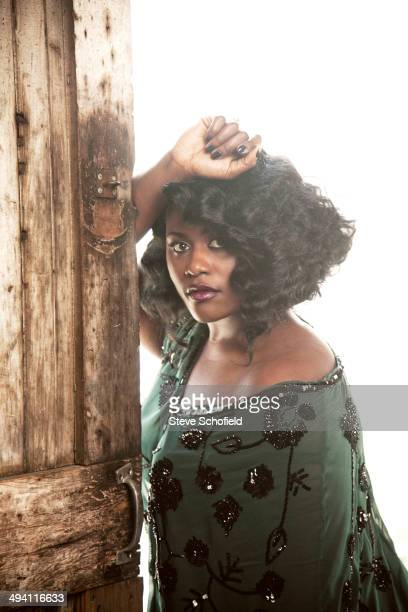 Actor Danielle Brooks is photographed for Emmy magazine in Los Angeles California