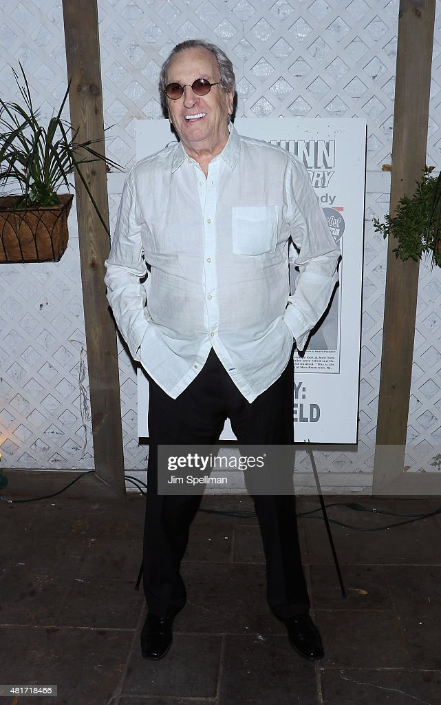 Actor Danny Aiello attends 'Colin Quinn The New York Story' Opening Night at Duet Brasserie on July 23 2015 in New York City