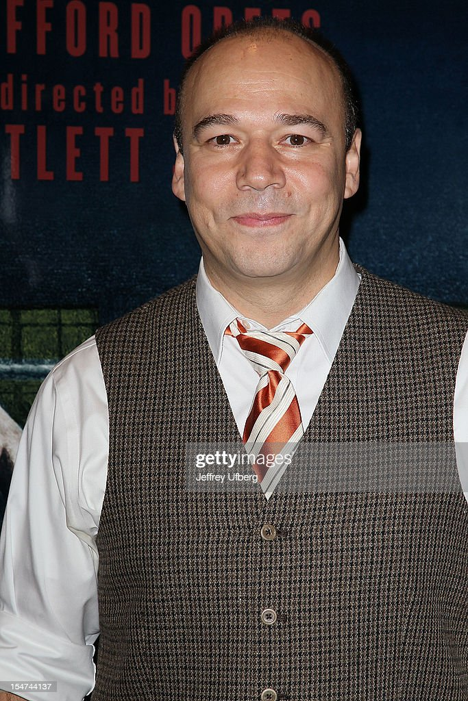 Actor Danny Burstein attends the 'Golden Boy' Cast Meet & Greet at the Lincoln Center Theater on October 25, 2012 in New York City.