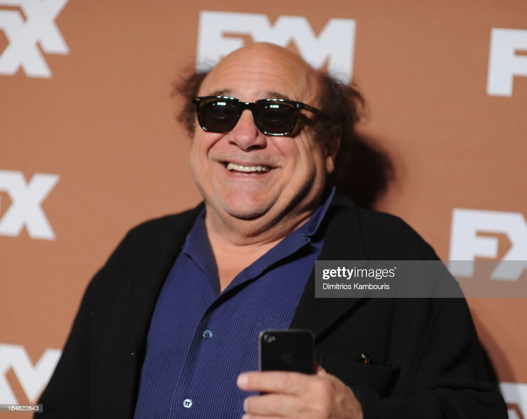 Actor Danny De Vito attends the 2013 FX Upfront Bowling Event at Luxe at Lucky Strike Lanes on March 28, 2013 in New York City.
