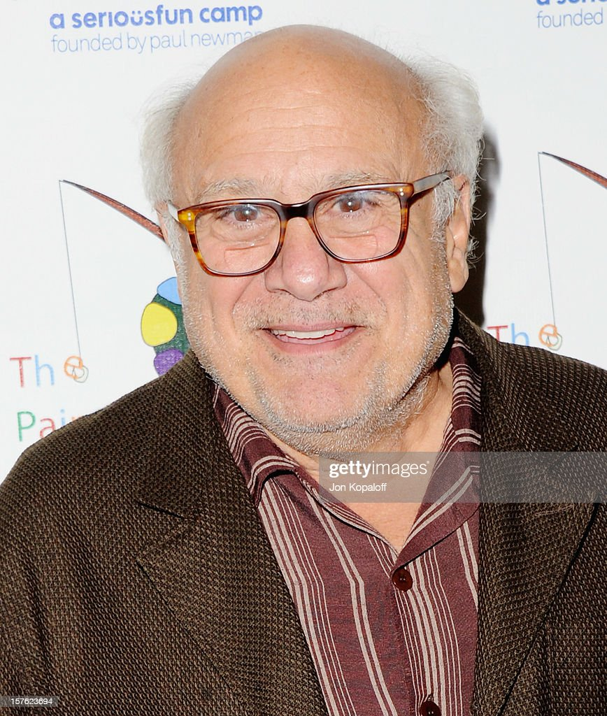 Actor <a gi-track='captionPersonalityLinkClicked' href=/galleries/search?phrase=Danny+DeVito&family=editorial&specificpeople=210718 ng-click='$event.stopPropagation()'>Danny DeVito</a> arrives at A Celebration Of Carole King And Her Music To Benefit Paul Newman's The Painted Turtle Camp at Dolby Theatre on December 4, 2012 in Hollywood, California.