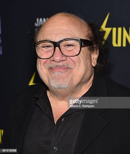 Actor Danny DeVito arrives to the premiere of FXX's 'It's Always Sunny in Philadelphia' 10th Season and 'Man Seeking Woman' at DGA Theater on January...