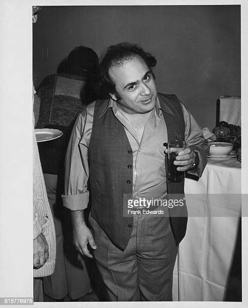 Actor Danny DeVito attending the Paramount Commissary party in honor of the television series 'Taxi' Hollywood California circa 1980
