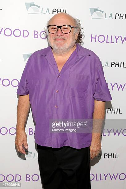 Actor Danny DeVito attends Hollywood Bowl Opening Night 2015 at the Hollywood Bowl on June 20 2015 in Hollywood California