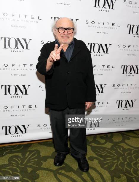 Actor Danny DeVito attends the 2017 Tony Honors cocktail party at Sofitel Hotel on June 5 2017 in New York City