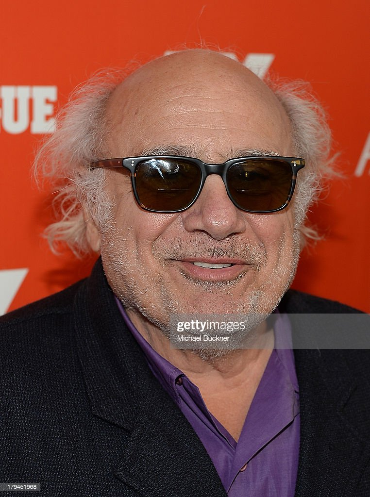 Actor Danny DeVito attends the premiere and launch party for FXX Network's 'It's Always Sunny In Philadelphia' and 'The League' at Lure on September 3, 2013 in Hollywood, California.