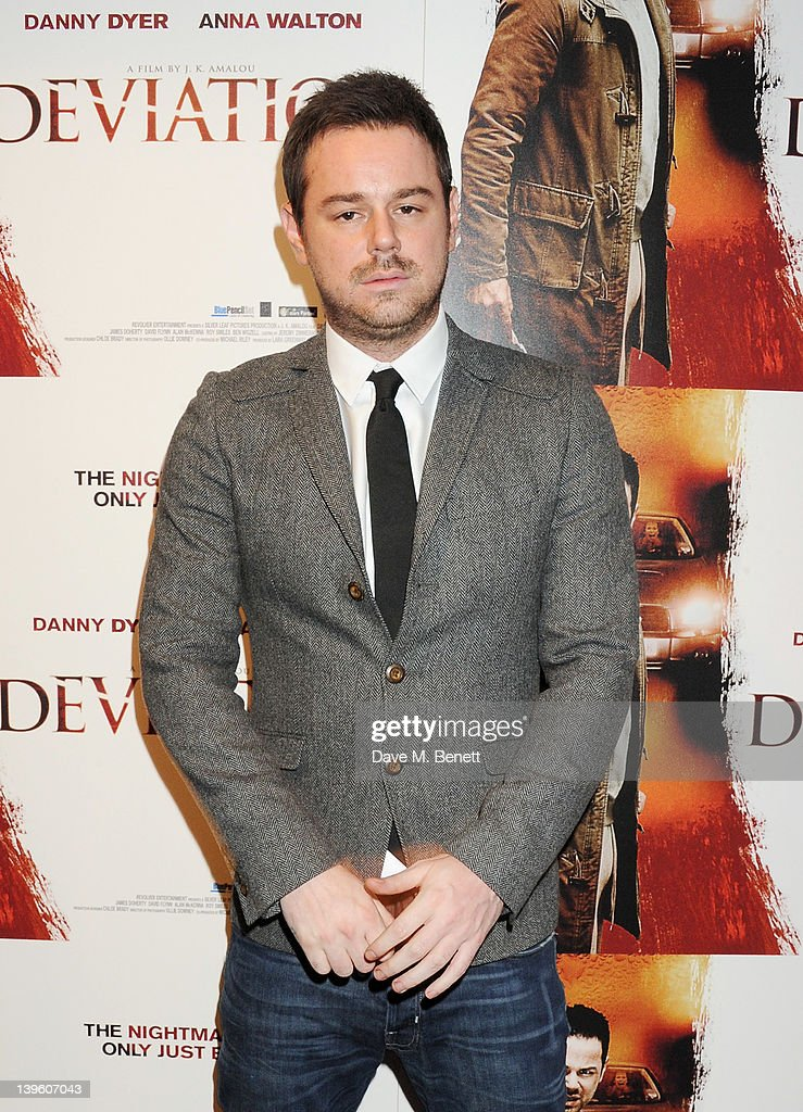 Actor Danny Dyer attends the World Premiere of 'Deviation' at Odeon Covent Garden on February 23, 2012 in London, England.