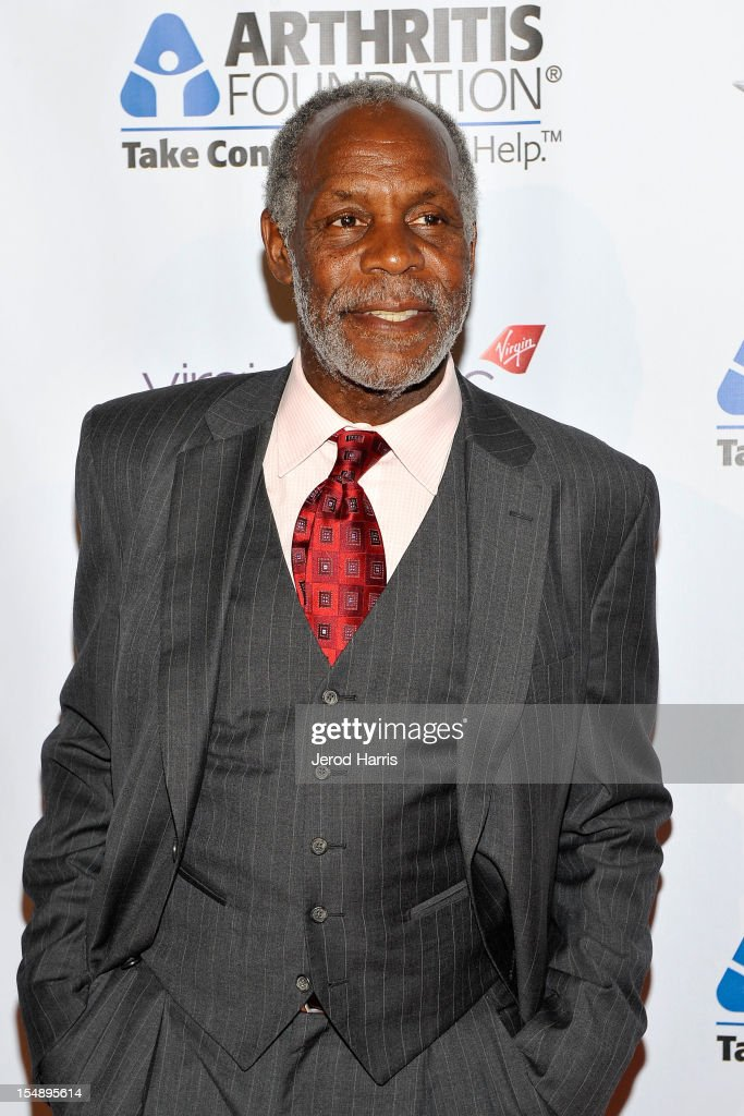 Actor <a gi-track='captionPersonalityLinkClicked' href=/galleries/search?phrase=Danny+Glover&family=editorial&specificpeople=171304 ng-click='$event.stopPropagation()'>Danny Glover</a> arrives at the Arthritis Foundation's Annual Gala at The Beverly Hilton Hotel on October 25, 2012 in Beverly Hills, California.