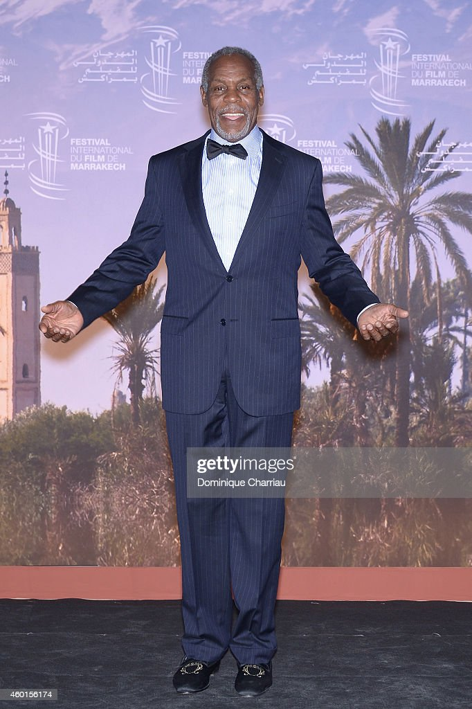 Actor Danny Glover at 'The Narrow Frame Of Midnight' Photocall during the 14th Marrakech International Film Festival on December 8 2014 in Marrakech...
