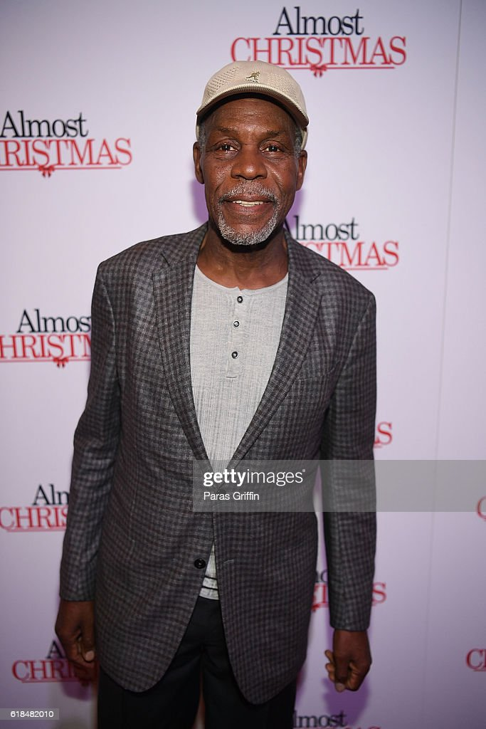 Actor Danny Glover attends 'Almost Christmas' Atlanta screening at Regal Cinemas Atlantic Station Stadium 16 on October 26, 2016 in Atlanta, Georgia.
