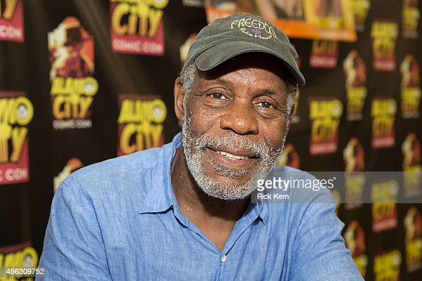 Actor Danny Glover attends day three of the Alamo City Comic Con at the Henry B Gonzalez Convention Center on September 28 2014 in San Antonio Texas