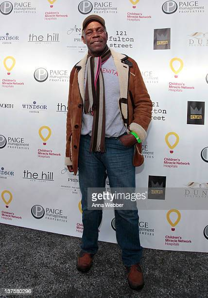 Actor Danny Glover attends StarStudded Football Viewing Party To Benefit Children's Miracle Network Hospitals hosted by Paige Management Group at Sky...