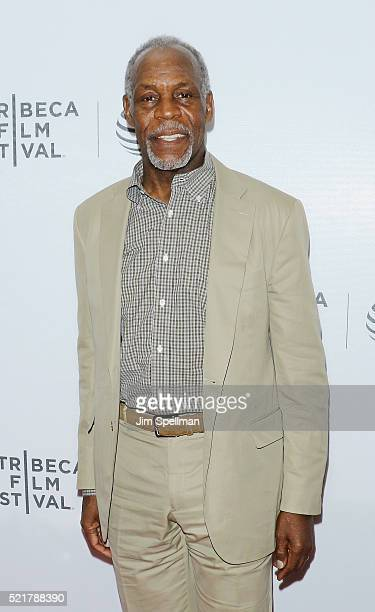 Actor Danny Glover attends the 2016 Tribeca Film Festival 'Shadow World' premiere at Regal Battery Park 11 on April 16 2016 in New York City