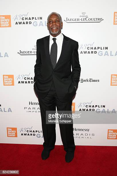 Actor Danny Glover attends the 43rd Chaplin Award Gala at Alice Tully Hall Lincoln Center on April 25 2016 in New York City