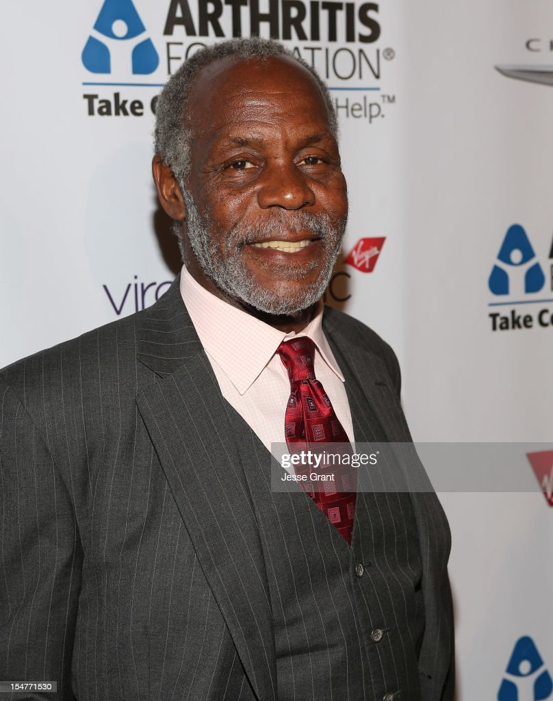 Actor <a gi-track='captionPersonalityLinkClicked' href=/galleries/search?phrase=Danny+Glover&family=editorial&specificpeople=171304 ng-click='$event.stopPropagation()'>Danny Glover</a> attends the Arthritis Foundation 'Commitment to a Cure' 2012 Awards Gala at The Beverly Hilton Hotel on October 25, 2012 in Beverly Hills, California.