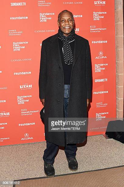 Actor Danny Glover attends the 'Complete Unknown' Premiere during the 2016 Sundance Film Festival at Eccles Center Theatre on January 25 2016 in Park...