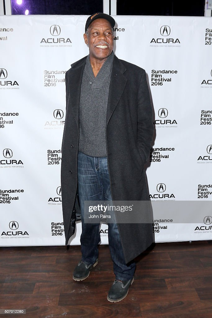Actor Danny Glover attends the 'Mr Pig' Premiere Party At The Acura Studio At Sundance Film Festival 2016 2016 Park City on January 26 2016 in Park...