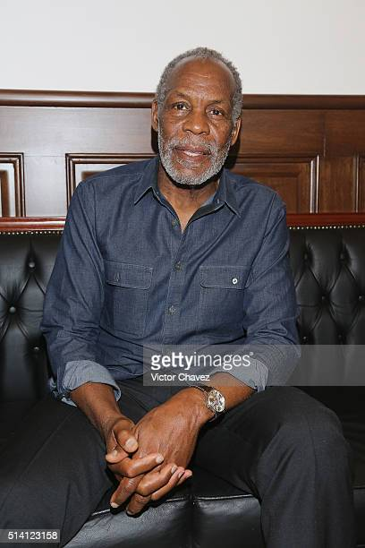 Actor Danny Glover attends the 'Mr Pig' press conference during the FICG31 Festival Internacional De Cine en Guadalajara at Museo De Las Artes on...