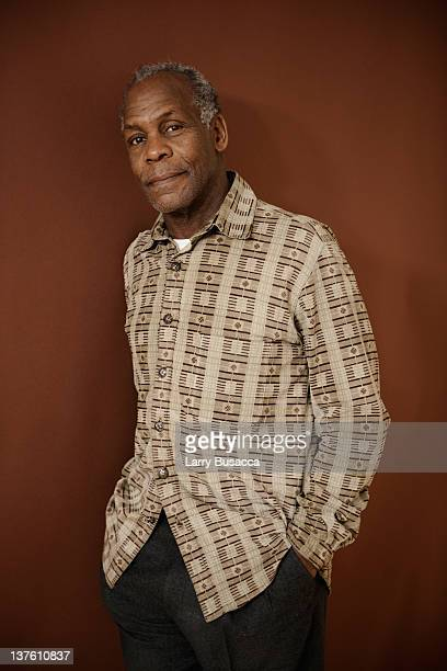 Actor Danny Glover poses for a portrait during the 2012 Sundance Film Festival at the Getty Images Portrait Studio at TMobile Village at the Lift on...