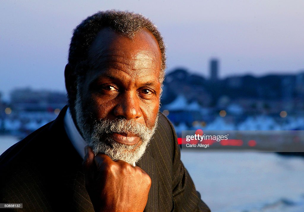 Actor Danny Glover poses for portraits during the 57th Annual International Cannes Film Festival May 19, 2004 in Cannes, France.