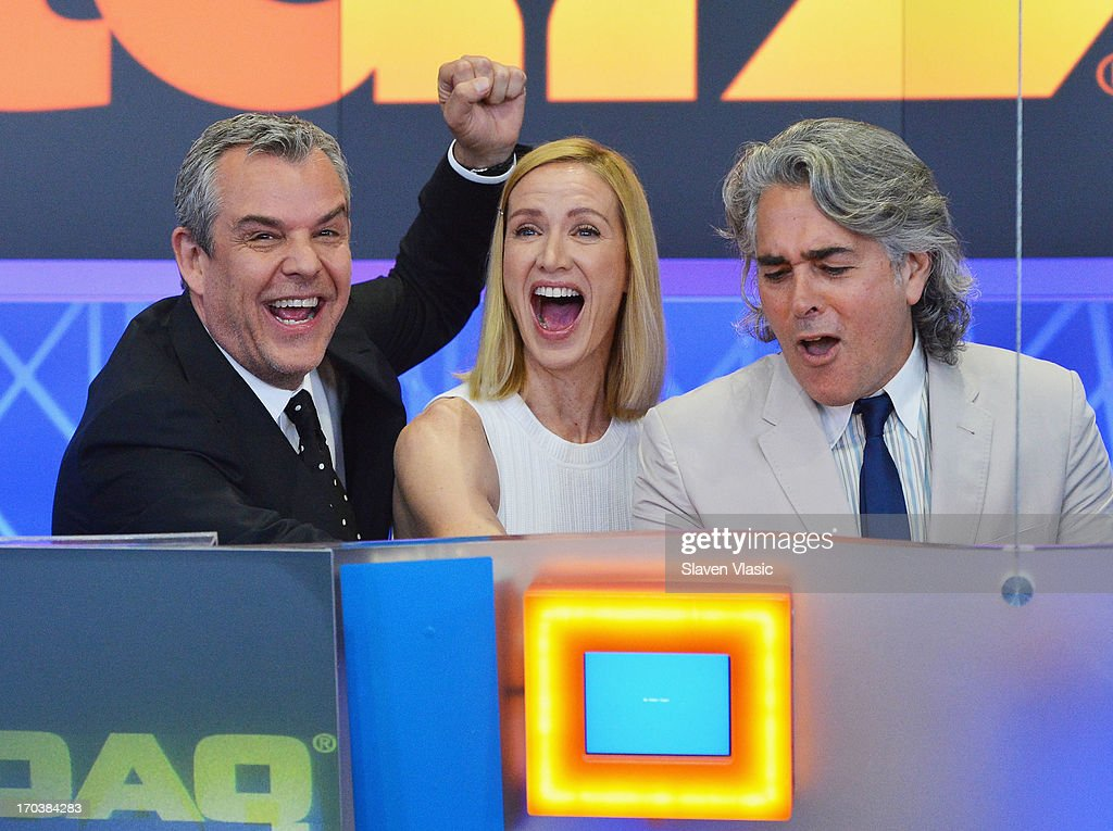 "The Cast Of ""Magic City"" Ring In NASDAQ Opening Bell"