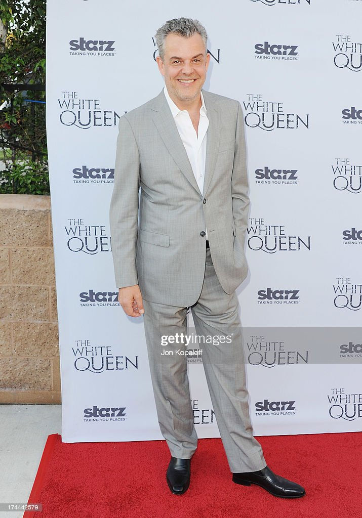Actor Danny Huston arrives at Cocktails With The Queen-The British Consulate Toasts The U.S. Launch Of The Starz Original Series 'The White Queen' at British Consul General's Residence on July 25, 2013 in Los Angeles, California.