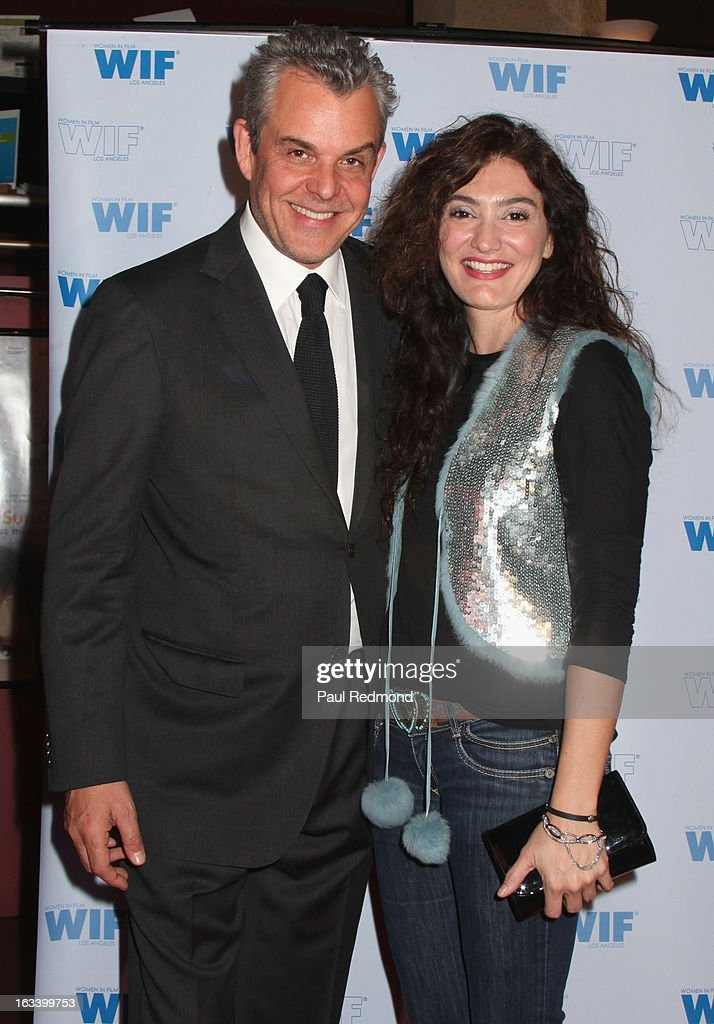Actor <a gi-track='captionPersonalityLinkClicked' href=/galleries/search?phrase=Danny+Huston&family=editorial&specificpeople=211465 ng-click='$event.stopPropagation()'>Danny Huston</a> (L) attends American Cinematheque hosts Cuban Women Filmmakers US Showcase at American Cinematheque's Egyptian Theatre on March 8, 2013 in Hollywood, California.