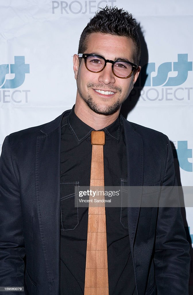 Actor Danny Lopes attends the Thirst Project charity cocktail party at Lexington Social House on January 15, 2013 in Hollywood, California.