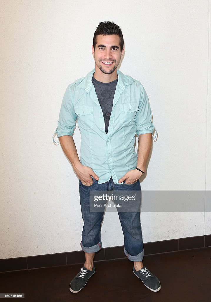 Actor Danny Lopes attends The Unlikely Heroes charity luncheon event in support of anti-human trafficking at the Veggie Grill on February 4, 2013 in Los Angeles, California.