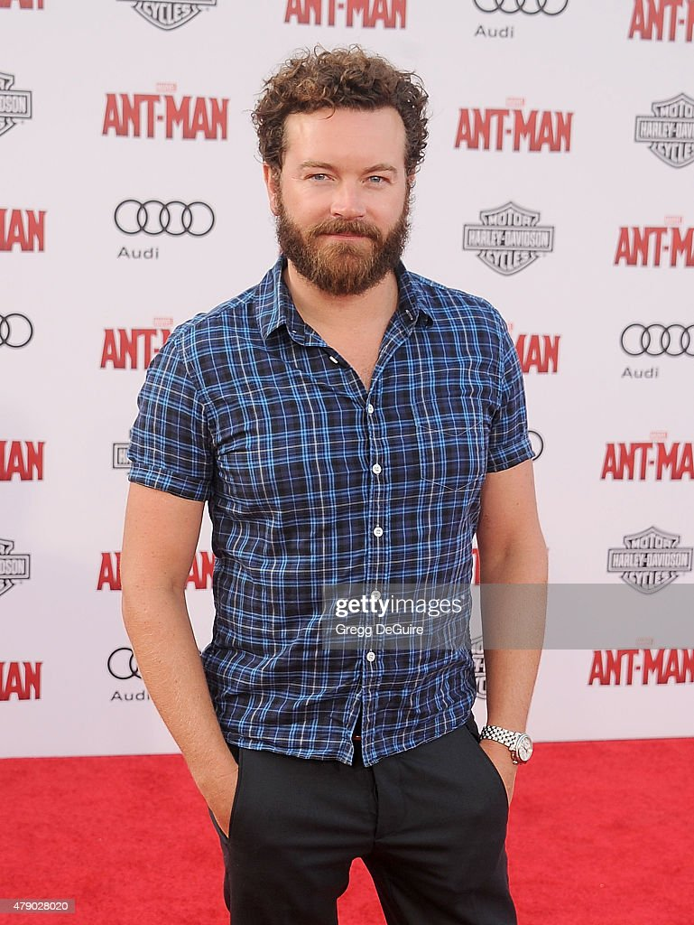Actor Danny Masterson arrives at the premiere of Marvel Studios 'Ant-Man' at Dolby Theatre on June 29, 2015 in Hollywood, California.