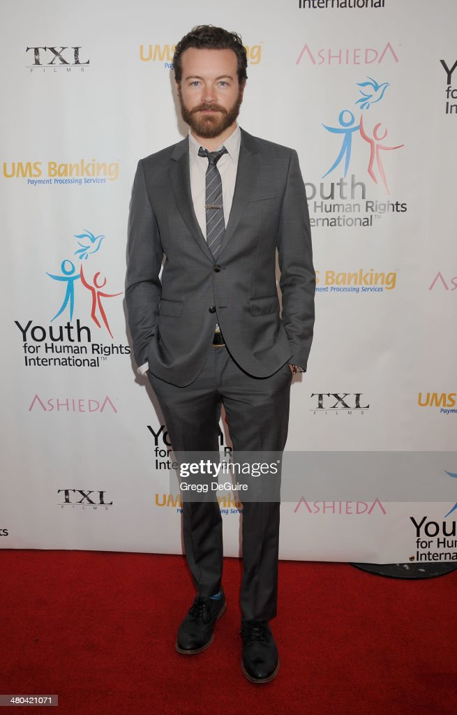 Actor Danny Masterson arrives at the Youth For Human Rights International Celebrity Benefit at Beso on March 24, 2014 in Hollywood, California.