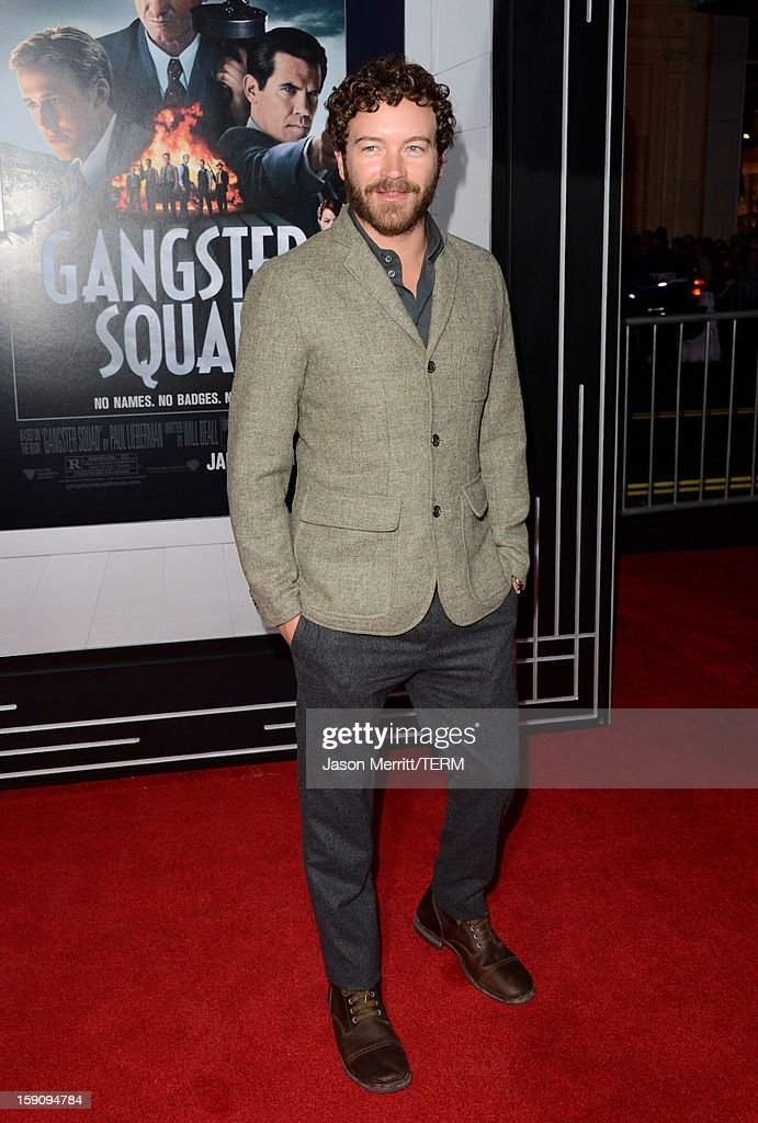 Actor Danny Masterson arrives at Warner Bros. Pictures' 'Gangster Squad' premiere at Grauman's Chinese Theatre on January 7, 2013 in Hollywood, California.