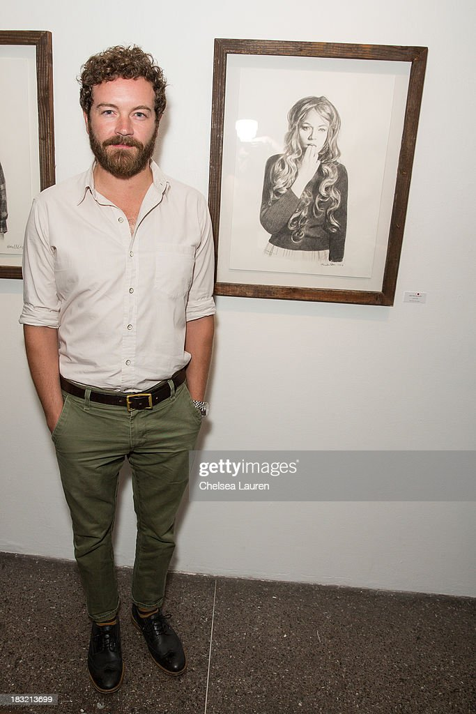 Actor <a gi-track='captionPersonalityLinkClicked' href=/galleries/search?phrase=Danny+Masterson&family=editorial&specificpeople=239512 ng-click='$event.stopPropagation()'>Danny Masterson</a> attends the opening reception for Mercedes Helnwein's exhibit 'The Trouble With Dreams' at Merry Karnowsky Gallery on October 5, 2013 in Los Angeles, California.