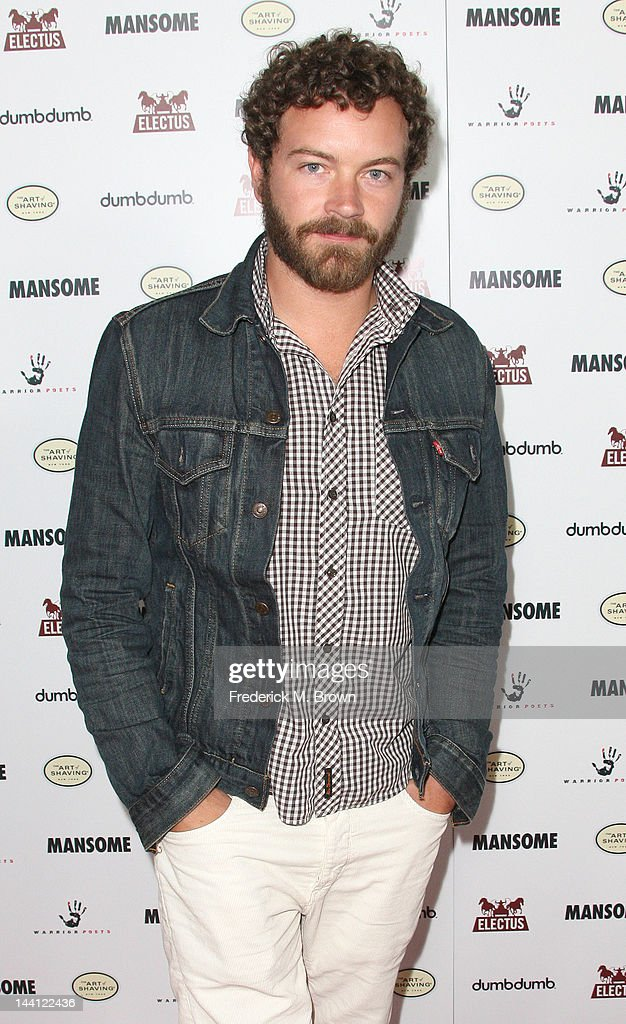 Actor <a gi-track='captionPersonalityLinkClicked' href=/galleries/search?phrase=Danny+Masterson&family=editorial&specificpeople=239512 ng-click='$event.stopPropagation()'>Danny Masterson</a> attends the premiere of Morgan Spurlock's 'Mansome' at the ArcLight Cinemas on May 9, 2012 in Hollywood, California.