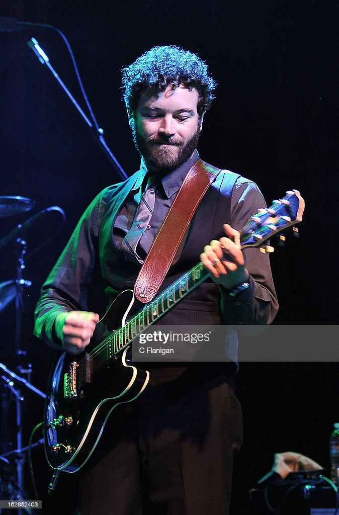Actor <a gi-track='captionPersonalityLinkClicked' href=/galleries/search?phrase=Danny+Masterson&family=editorial&specificpeople=239512 ng-click='$event.stopPropagation()'>Danny Masterson</a> performs during the San Francisco PETTY FEST at The Fillmore on February 27, 2013 in San Francisco, California.