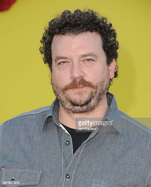 Actor Danny McBride arrives at the Los Angeles Premiere 'Sausage Party' at Regency Village Theatre on August 9 2016 in Westwood California