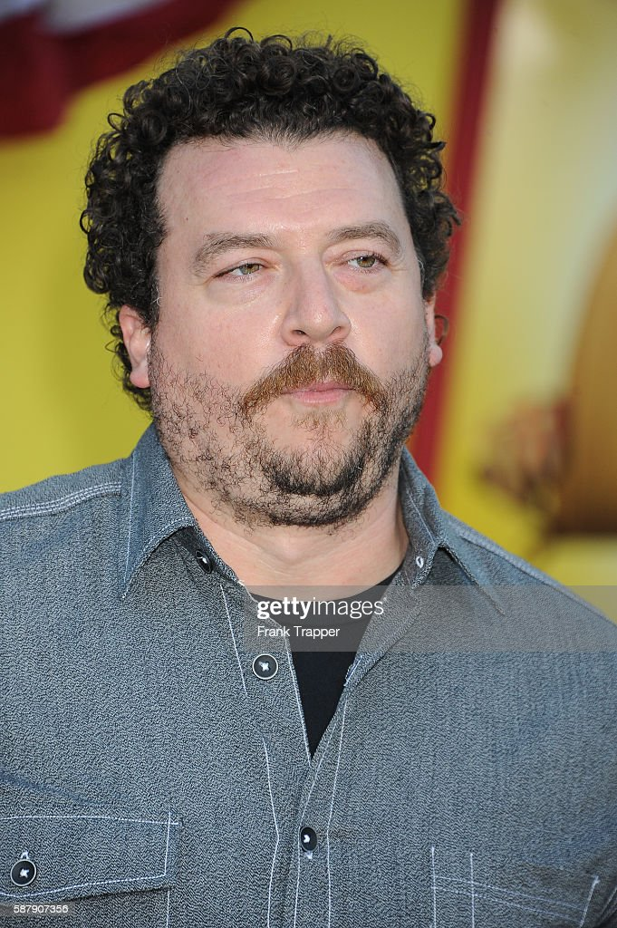 Actor Danny McBride attends the premiere of Sony's 'Sausage Party' held at the Regency Village Theater on August 9 2016 in Westwood California