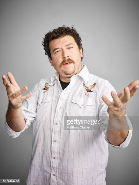 Actor Danny McBride from 'Vice Principals' is photographed for Entertainment Weekly Magazine on July 23 2016 at Comic Con in the Hard Rock Hotel in...