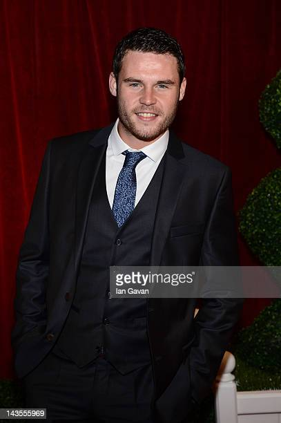 Actor Danny Miller attends The 2012 British Soap Awards at ITV Studios on April 28 2012 in London England