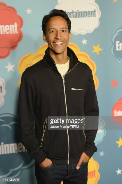 Actor Danny Pudi attends Entertainment Weekly's Annual ComicCon Celebration at Float at Hard Rock Hotel San Diego on July 20 2013 in San Diego...
